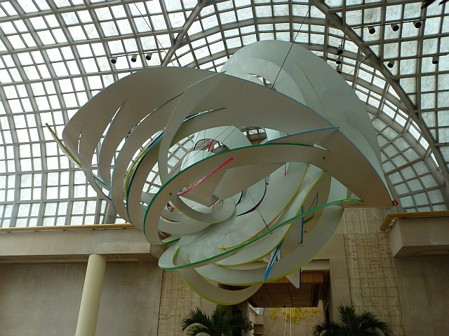Frank Stella - Cornucopia sculpture
