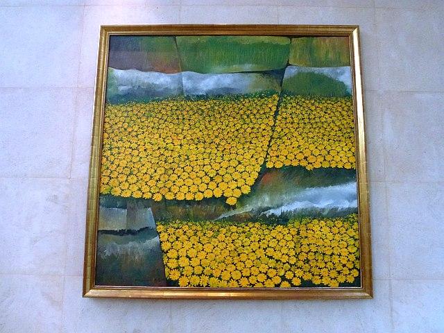 Tay Bak Koi - Chrysanthemums