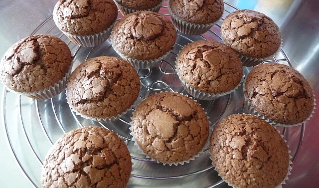 rezepte aus dem kochlabor changpuak 39 s schokolade muffins. Black Bedroom Furniture Sets. Home Design Ideas