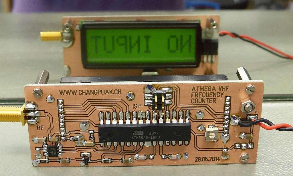 Mini VHF Frequency Display