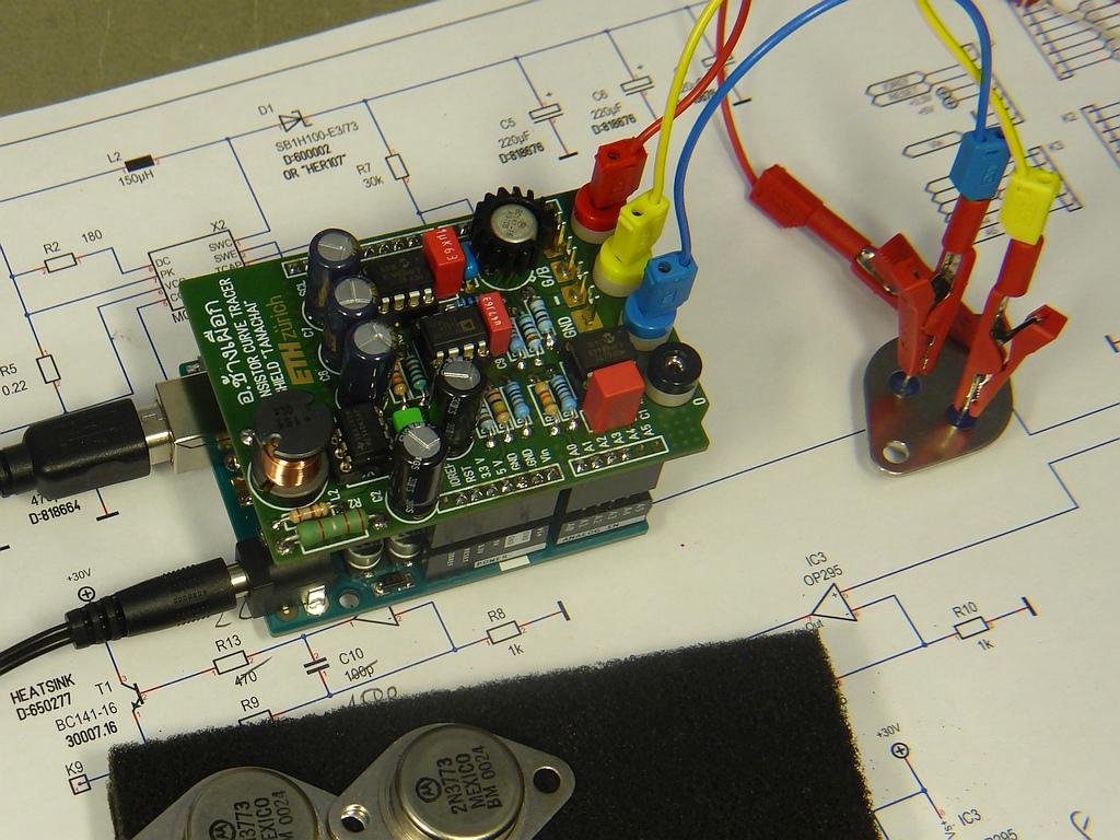 ARDUINO/Genuino 'TransistorCurveTracer' Shield
