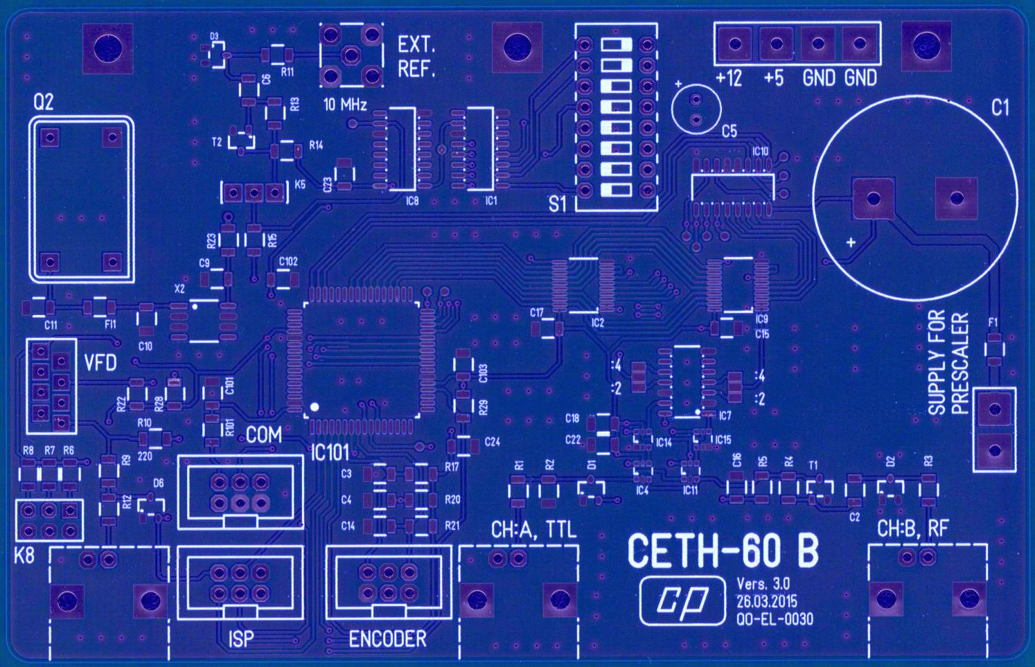 Homebrew Frequency Counter Ceth 60 Four Digit Meter Ttl Cmos Schematic Downloads