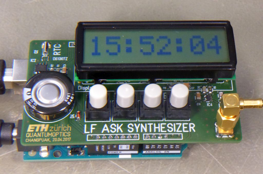 Homebrew DCF-77 Synthesizer