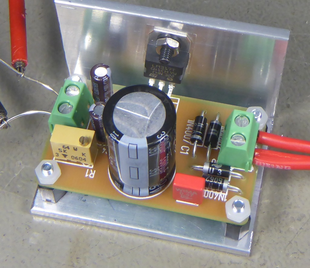 Power Supply Project Peth 317 Understanding This Lm317 Led Driver Circuit Electrical Engineering The Small But Useful