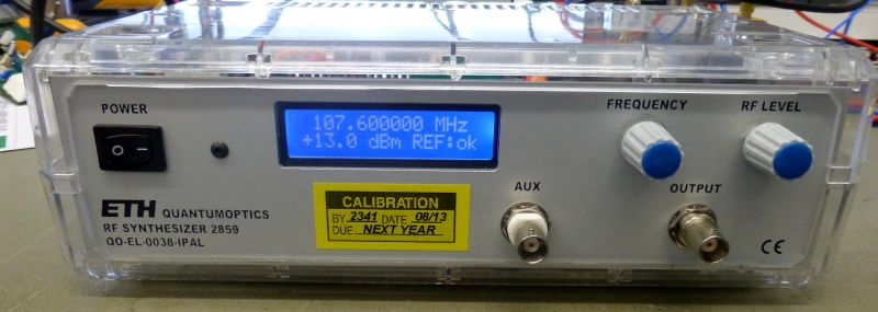 Homebrew VHF Synthesiser with AD9859