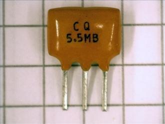 Lot of 1 or 5 6.5 Mhz Ceramic Resonator