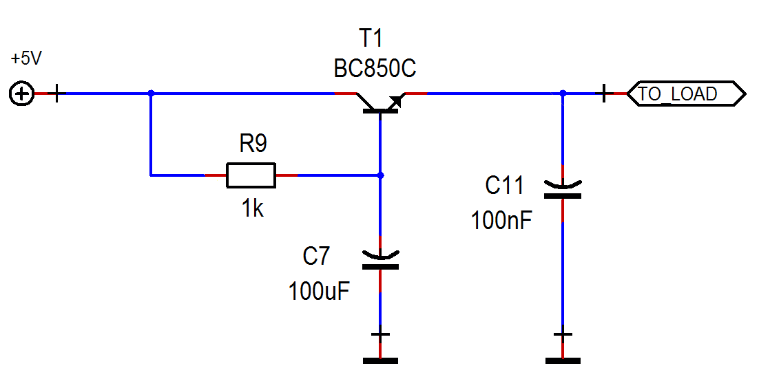 Capacitance Multiplier