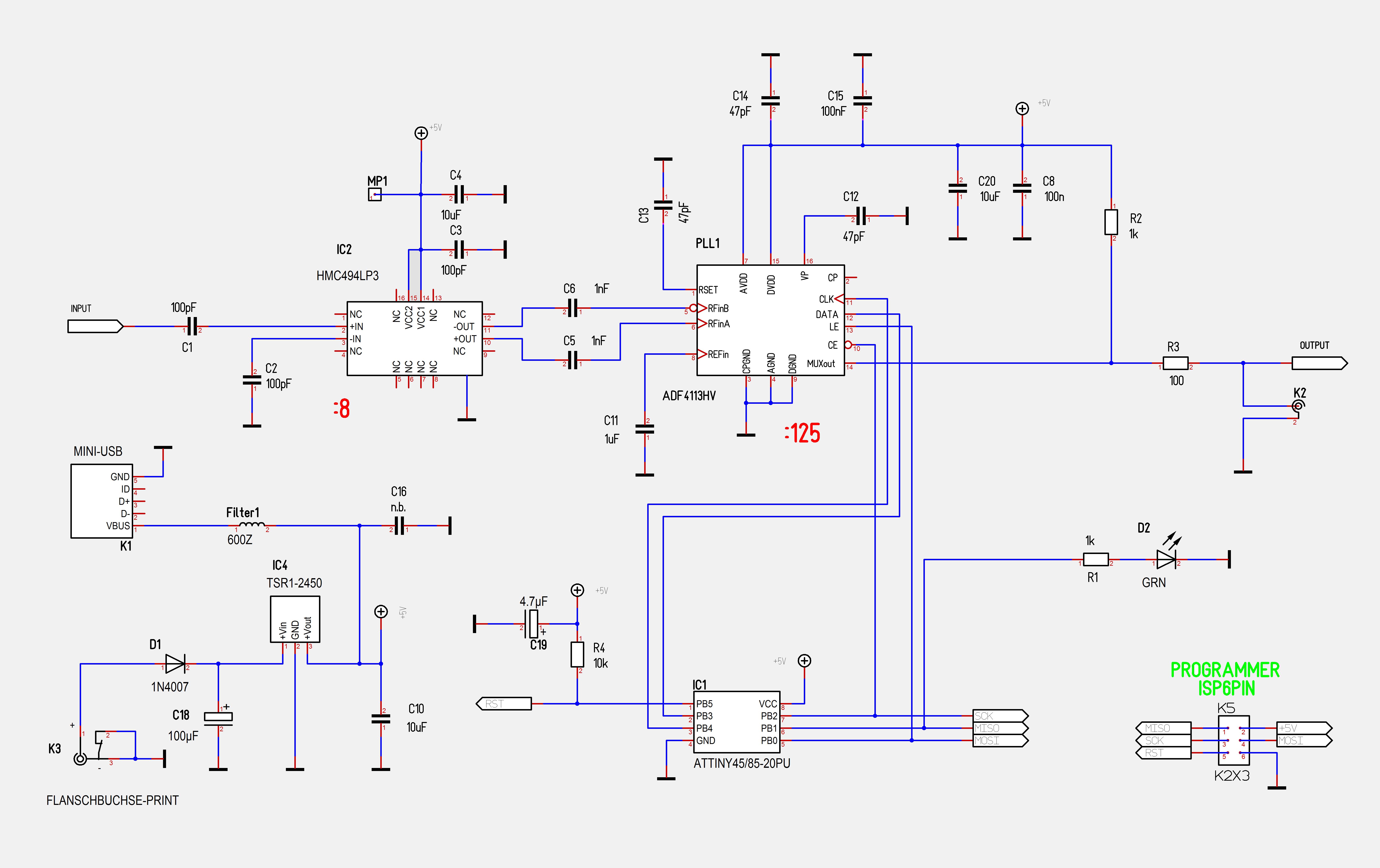 Homebrew 17 Ghz Frequency Prescaler 1000 Xport Wiring Diagram
