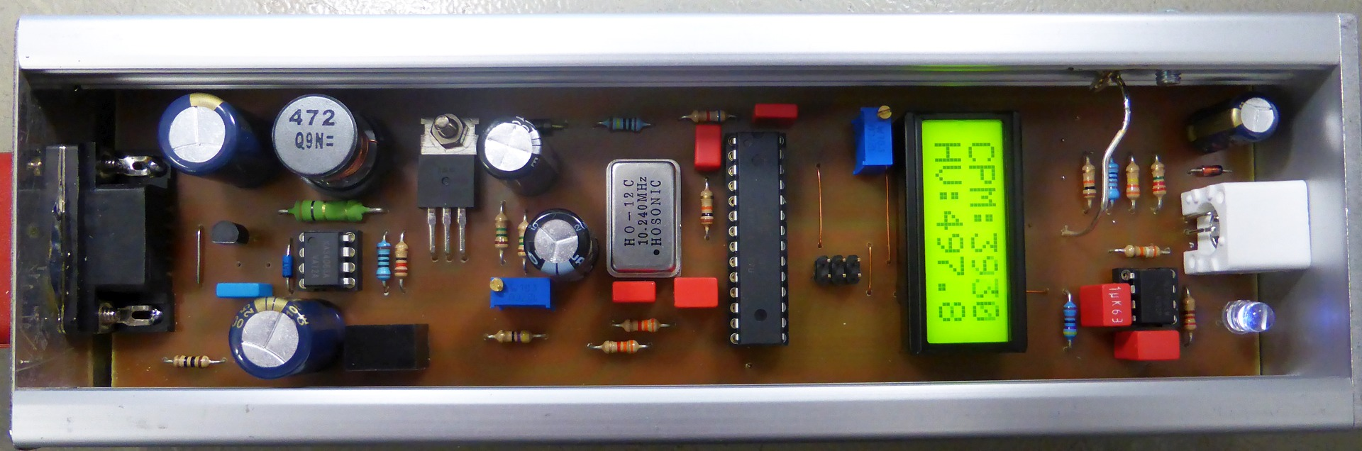 Homebrew Geiger Counter With Envico Adapter I2c Slave Circuit