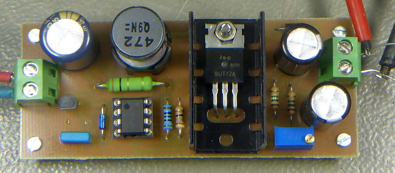 High Voltage Power Supply for Geiger Tubes