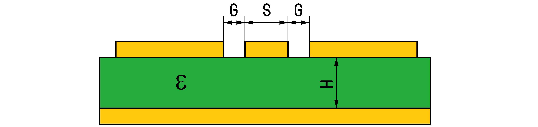 Online Calculator  :  Coplanar Waveguide