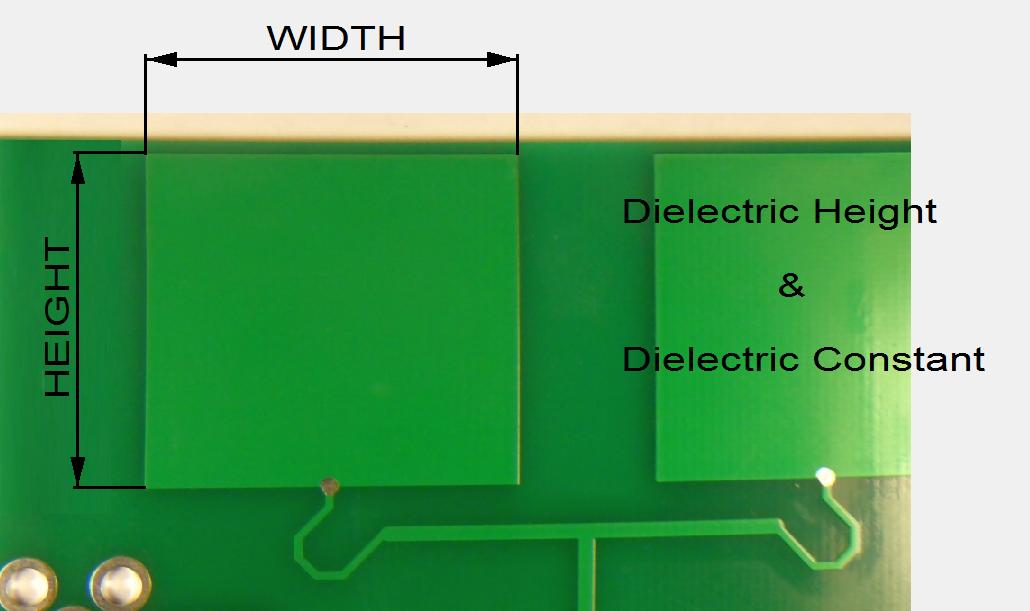 Microstrip Patch Antenna Calculator