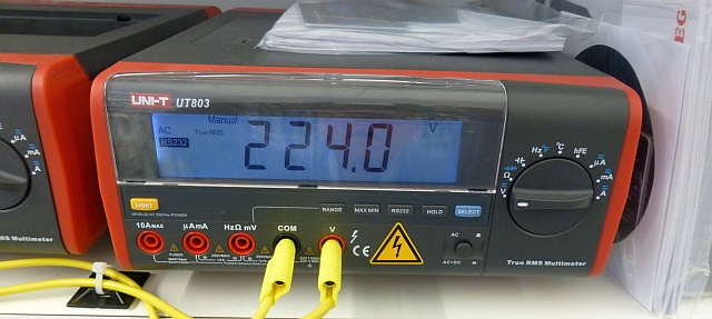 Troubleshooting :: UT 803 :: RS232 / Let's get serial