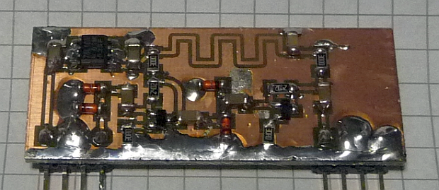Homebrew Preamplifier for Frequency Counters : 40 dB Gain up