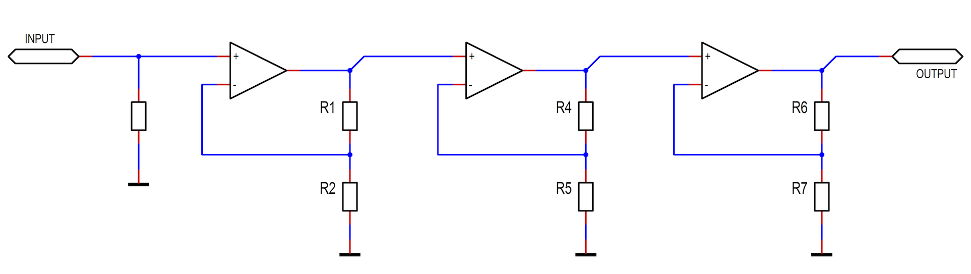 Cascading Opamps For Increased Bandwidth Op Amp How Does This Opamp Noninverting Amplifier Work