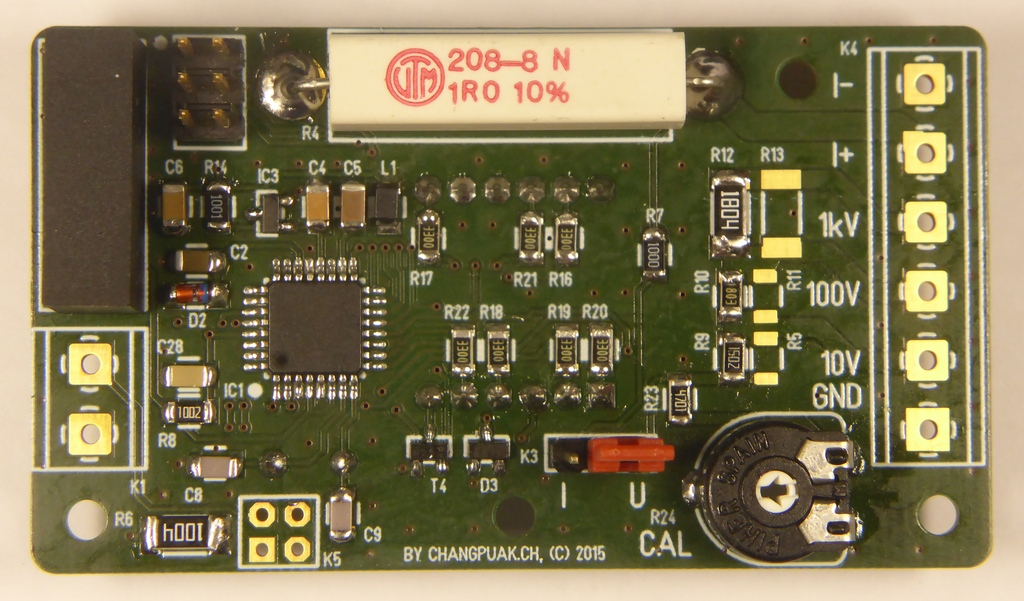 Micro-Projects • Tools : DIY 4-Digit LED Digital Voltmeter