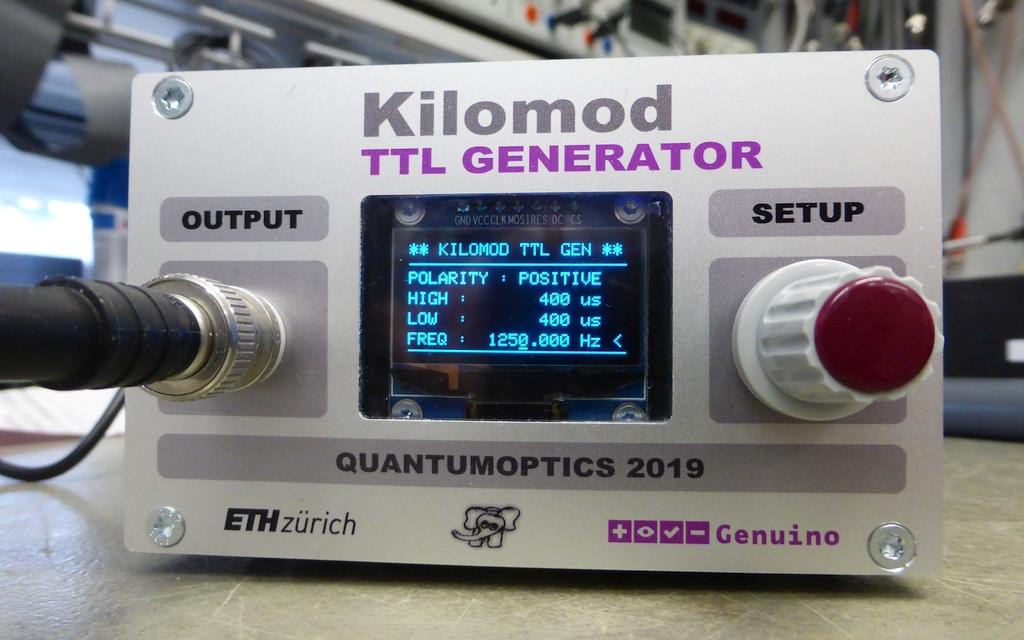 Arduino Shield ''KILOMOD''