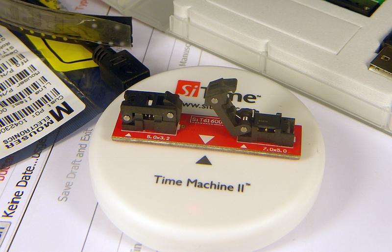 SiTime TIME MACHINE II