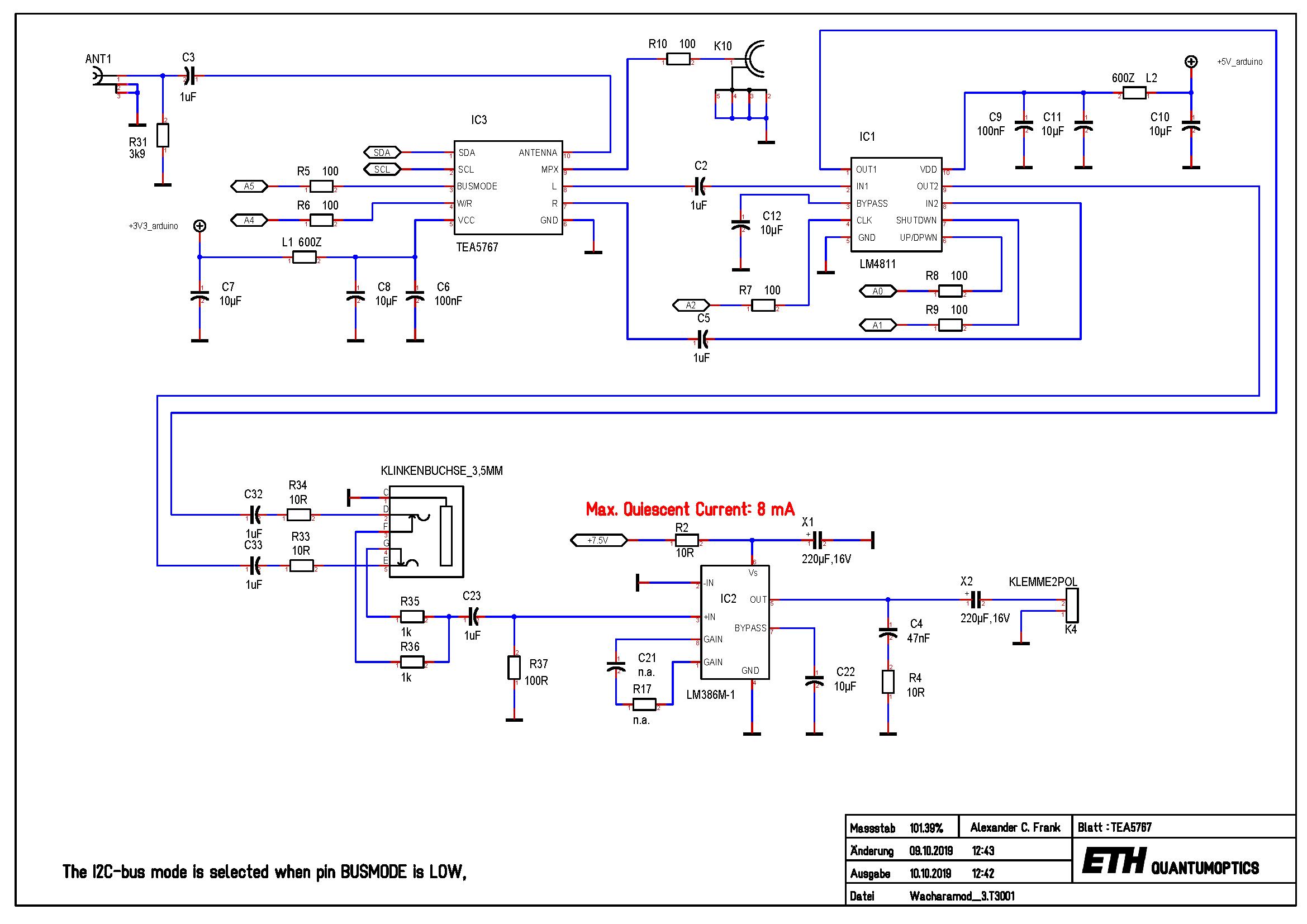 Arduino Shield 'WACHARA 1' on